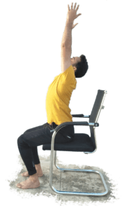 Seated Back-bend - Yoga with Ankush